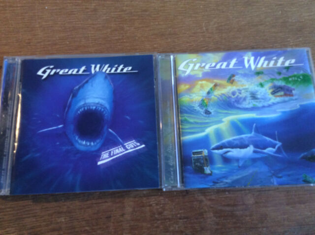 Great White [2 CD Alben] Can't Get There From Here + The Final Cuts - Homage