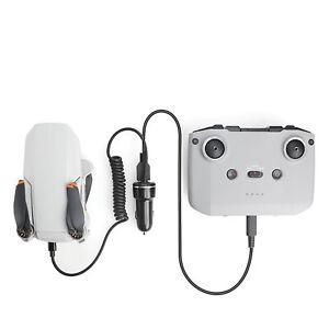 Dual Car Charger Charging for DJI Mavic Mini 2 Drone Remote Control Accessories