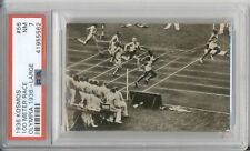 1936 Kosmos JESSE OWENS #56 Rookie PSA 7 NM Olympics RC 100 Meter Sprint