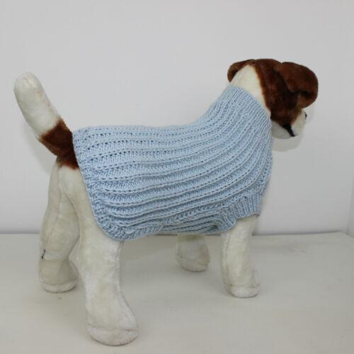 2 X Perro Abrigo de tejer patrones de Aran 2 x Instrucciones Tejer patrón de Ganga