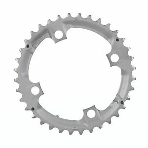M530 Shimano Deore M590 M532 9 Speed Chainring 36T 104mm Silver