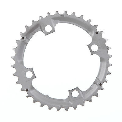 Shimano middle chain ring deore//slx//xt 32t//36t 104mm 9//10s steel//