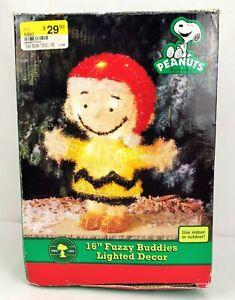 Peanuts-Charlie-Brown-16-034-Fuzzy-Buddies-Lighted-Christmas-Decor