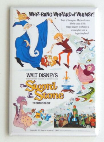The Sword in the Stone FRIDGE MAGNET movie poster