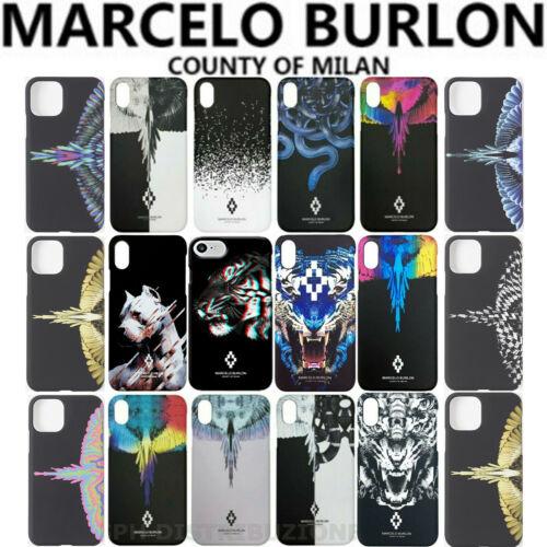 Cover case Marcelo Burlon x Apple iPhone 6 6s 7 8 11 12 X XS XR Max Pro Plus- show original title