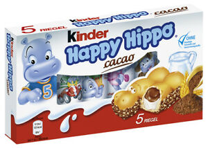 Details about FERRERO - Happy Hippo - Cocoa 5 pcs - German Production