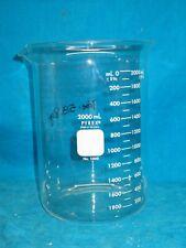 Pyrex 2000ml Glass Low Form Beaker 1000