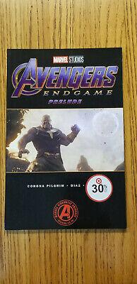 CB4321 Avengers End Game Prelude #2 Marvel Studios VF//NM 9.0