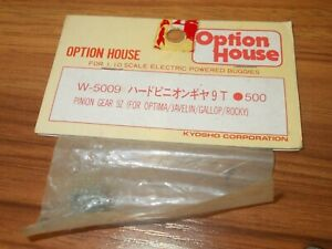 Kyosho-Option-House-W-5009-Pinion-Gear-9T-For-Optima-Javelin-Gallop-Rocky
