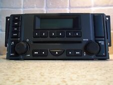 LAND ROVER RADIO CD PLAYER DISCOVERY 3 & FREELANDER 2 DOUBLE DIN L359-6CD400