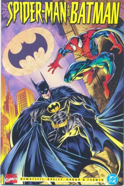Marvel & DC (1995) SPIDER-MAN and BATMAN one-shot! DeMatteis! Bagley!