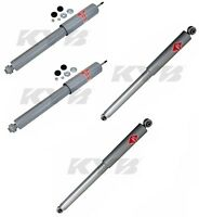 Dodge Dakota 1997-2004 Front & Rear Shock Absorbers 4wd Kyb Gas-a-just on sale