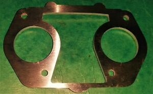 Dellorto-DRLA-36-40-Top-Spacer-Plate-For-Fitting-Air-Cleaner-VW-Twin-Carb-Billet