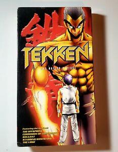 Tekken The Motion Picture Classic Vhs 1999 Dubbed Uncut Anime