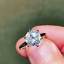 Details about  /3CT White Round Diamond Pave Set Engagement Wedding Ring In 925 Sterling Silver