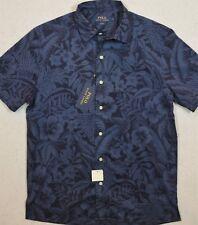 Polo Ralph Lauren Hawaiian Floral Print Oxford Camp Shirt L /& XL NWT $99