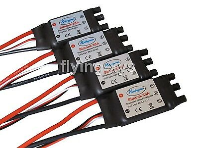 4x HP SimonK 30A ESC Brushless Speed Controller BEC 2A for Quadcopter F450 X525