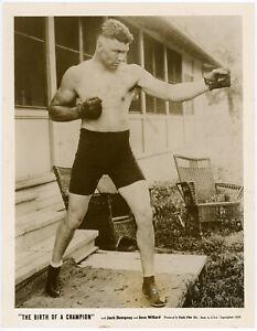 Original-1939-Fistic-Film-Production-Photograph-Birth-of-a-Champion-Jack-Dempsey