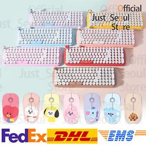Official BTS BT21 Baby Retro Wireless Keyboard+Mouse Bundle+Freebie+Free Express