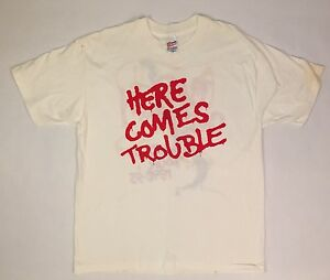Vtg 90's Bad Company Here Comes Trouble World Tour 1992- 1993 T-Shirt Size XL