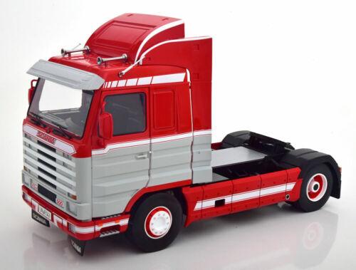 Road Kings RK180101  Scania 143 Streamline 1995 red//lightgrey//white  1:18