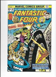 Fantastic-Four-167-February-1976-vs-The-Hulk-The-Thing-loses-his-powers