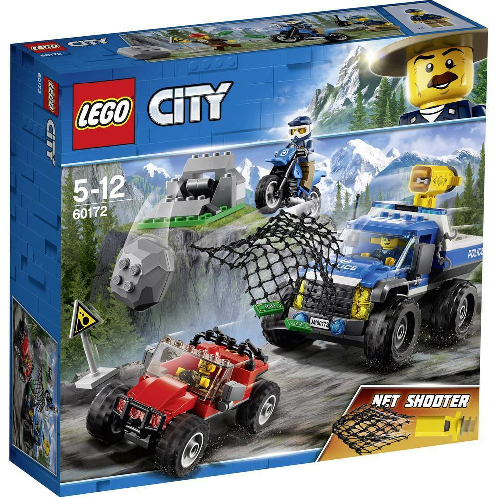 LEGO City 60172  Police Dirt Road Pursuit - Brand New