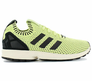 timeless design 87424 f797e Details about Adidas Zx Flux Pk Primeknit Sneaker S75975 Yellow Black Shoes  New
