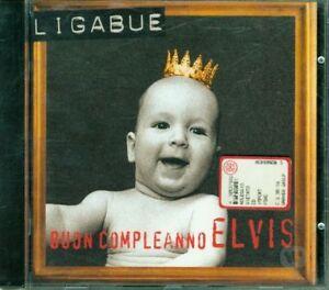 Ligabue-Buon-Compleanno-Elvis-1A-Stampa-Con-Siae-Rosa-Cd-Perfetto