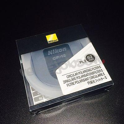 Nikon FTA11501 C-PL II 62 Circular Polarizer Filter for Camera