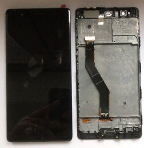 Verre Display LCD Écran Tactile Frame Assemblés pour Huawei P9 Plus Noir VIE-L09