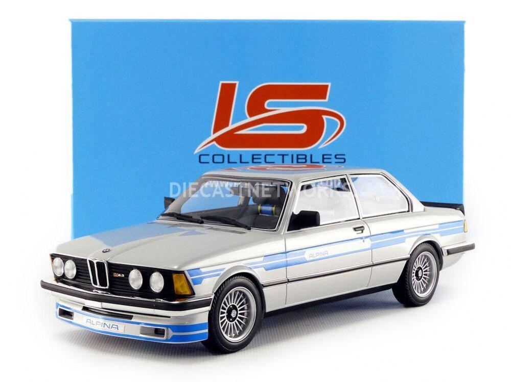 Coleccionables ls 1983 BMW 323 alpina argento blu 1 18 escala le de 250  nuevo