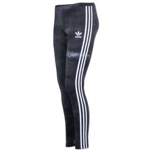 Details zu adidas Damen 3 Streifen Moon Leggings Hose Rita Ora Sporthose Fitnesshose multi