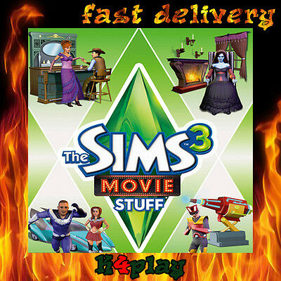 The Sims 3 Movie Stuff PC Origin Key