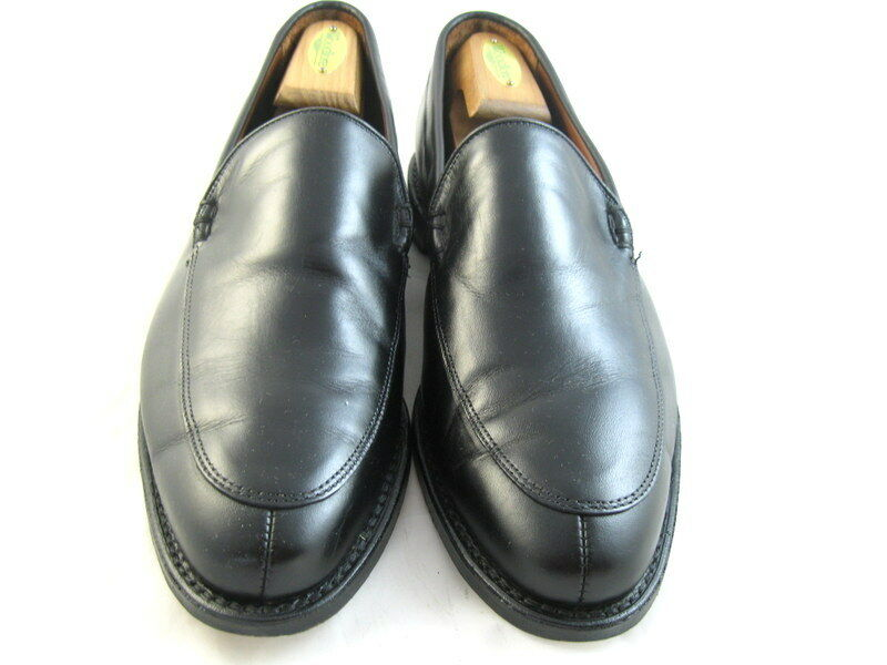 Allen Edmonds  STEEN   Loafers 9.5 EEE Black   (601)