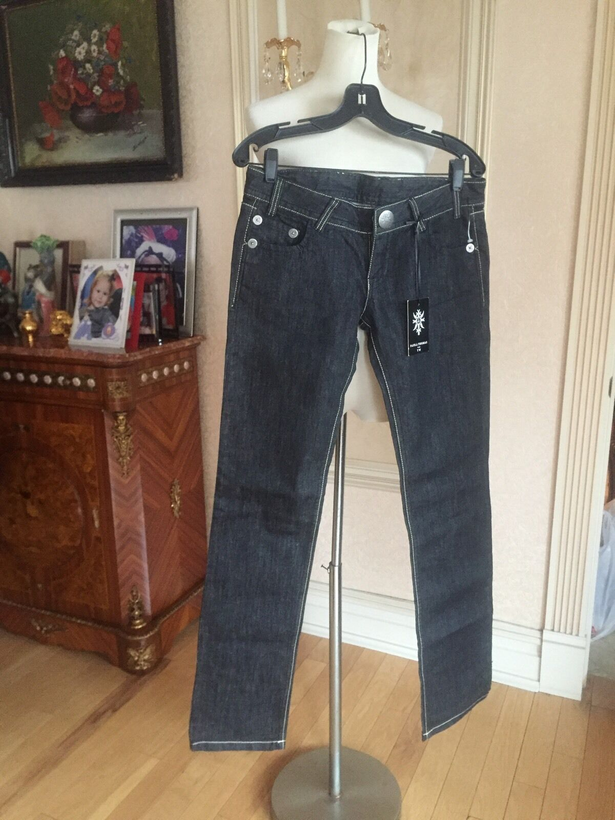 THOMAS WYLDE STRETCH CIGARETTE JEANS SZ 29 BNWT