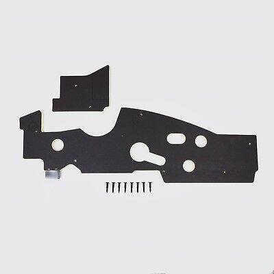 Mopar B Body 66-70 BLACK NON AC Firewall Insulation /& Kickpanel Insulation DMT