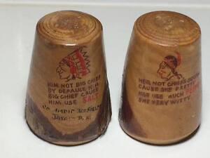 Vintage-wooden-native-Jasper-Park-souvenir-salt-and-pepper