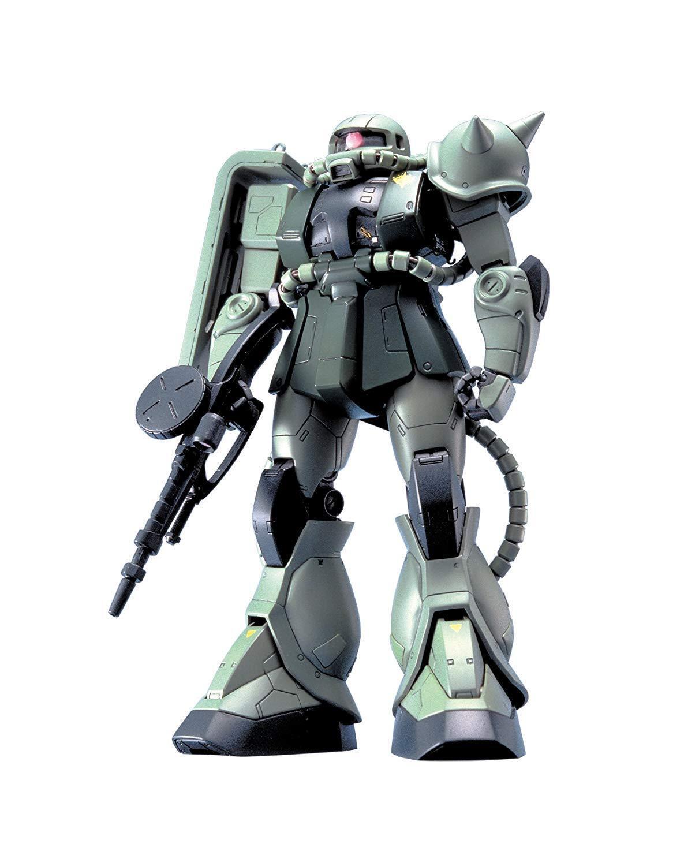 MG 1 100 MS-06F   J Zaku II (Mobile Suit Gundam)   Plastic model From Japan