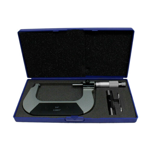 4/'/' Digit Outside Micrometer 0.0001/'/' Graduation Ratchet Stop 3/'/'