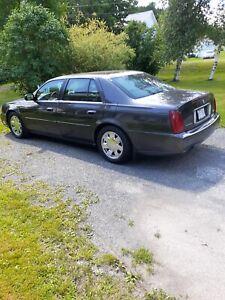 2001 Cadillac DTS Sport elegance