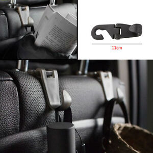 Image Is Loading 1pc Auto Seat Headrest Black Stand Hanging Holder
