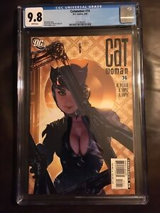 Catwoman-issue-74-CGC-9-8-Adam-Hughes-Cover-DC
