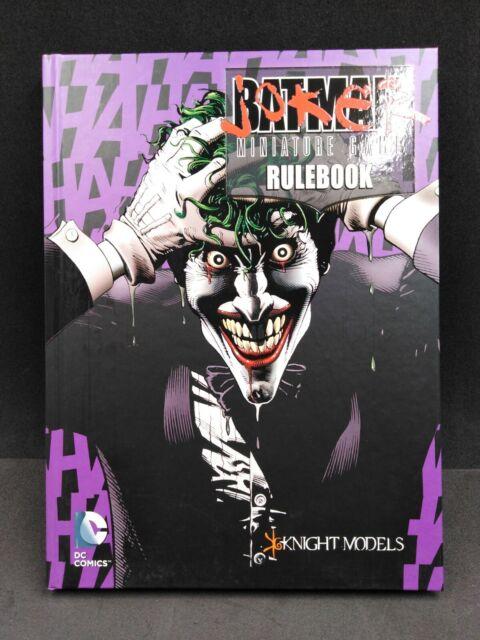 Batman Joker Miniature Book Rulebook Knight Models