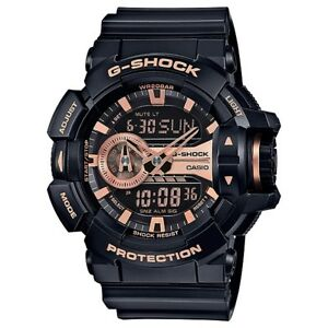 Casio-G-Shock-Black-Rose-Gold-Analogue-Digital-Mens-Rotary-Watch-GA400GB-1A4