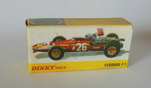 REPRO BOX DINKY n 1422 Ferrari F 1