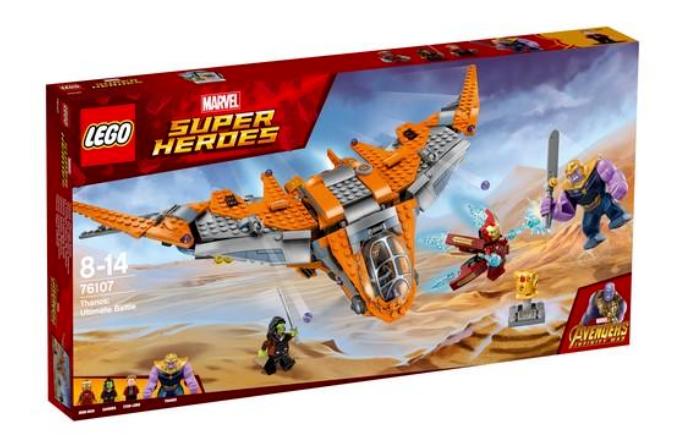 Lego 76107  Marvel Super Heroes Thanos  Ultimate Battle  neuf et non ouvert   expédition rapide à vous