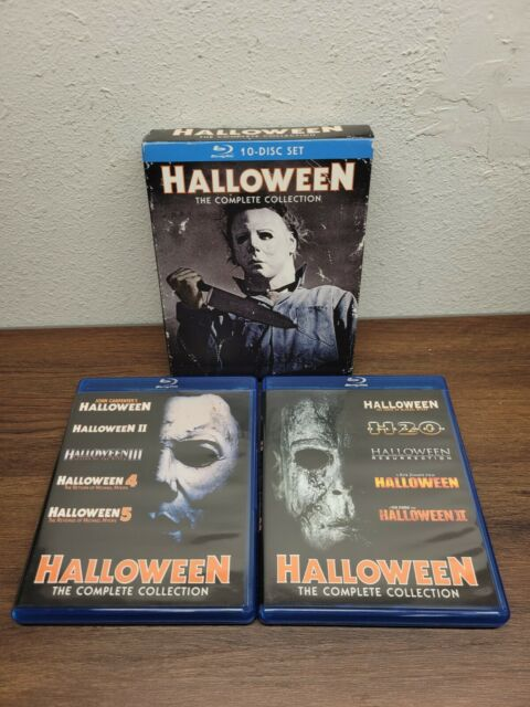 Halloween: The Complete Collection (Blu-ray Disc, 2014, 10-Disc) USED - VG**