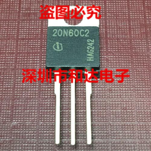 10 x 20N60C2 SPP20N60C2 Power Transistor TO-220 600V 20A
