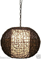 Brand Cane Rattan Bamboo Wicker Light Lamp Furniture - Great Buy
